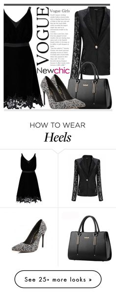 """""""Vogue Girl #Newchic"""" by fattie-zara on Polyvore featuring Miss Selfridge, chic, New and newchic"""