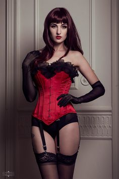 Vollers Overbust corset -- Lingerie as Outerwear  25 Party Ready Styles.  Vollers Corsets · Vollers Corsets - 2016 692f96354