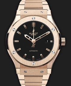 The new model wrist watch Hublot Classic Fusion King Gold Bracelet is designed for men and women. This watch is one of the more popular all over the world just because it was unisex. Beautiful design in our hand will attract every attention and the v
