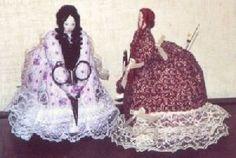 PJ 105 Victorian Lady Pincushion Pattern