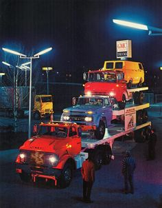 GMC!What a amazing picture Lifted Chevy Trucks, Classic Chevy Trucks, Gm Trucks, Cool Trucks, Chevy 4x4, Pickup Trucks, Classic Cars, General Motors, Buick Gmc