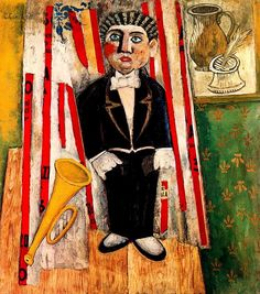 Carlo Carra (1881-1966) - 1914, depicts The Child Prodigy (Private Collection) by RasMarley, via Flickr