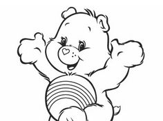 Care Bears coloring page!