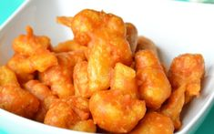 spicy cauliflower fritters