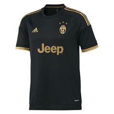 e352c6ed753 Adidas Juventus  15- 16 Third Soccer Jersey (Black Dark Football Gold).  Juventus Soccer