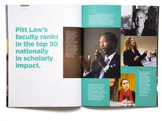 University of Pittsburgh School of Law Viewbook - New Site Ed Design, Buch Design, Page Design, Layout Design, Minimal Web Design, Editorial Layout, Editorial Design, Pittsburgh, Publication Design