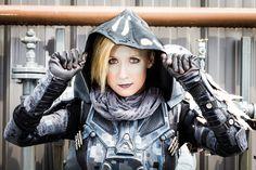 Destiny Hunter - Cloaking Up by Kudrel-Cosplay.deviantart.com on @DeviantArt