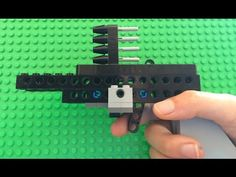 How To Build A Simple, Working Lego Pistol!! EXTREMELY POWERFUL - YouTube
