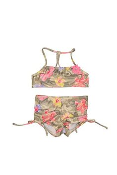 Biscotti and Kate Mack Two Piece Swimsuits, Flower Prints, Camouflage, Two Piece Skirt Set, Legs, Summer Dresses, Spring 2015, Collection, Ann