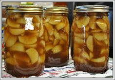 Apple Pie Filling - Apple pie made with this filling won first place in the pie contest at a state fair!