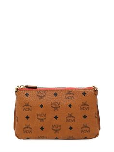 MCM Medium Millie Faux Leather Crossbody Bag, Tan. #mcm #bags #shoulder bags #leather #crossbody #lace #