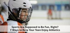 7 Ways to Help Teenagers Enjoy Sports | Whether your teen is a casual player or has hoop dreams, you can help make sure her sports experience is positive—even if every season isn't perfect. We've got seven ideas to get you started.