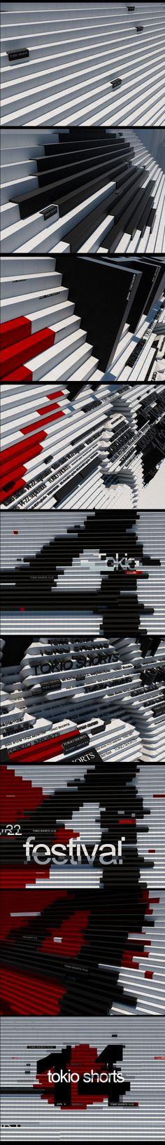 The 22thTOKYO INTERNATIAONAL FILM FESTIVAL by egor antonov, via Behance