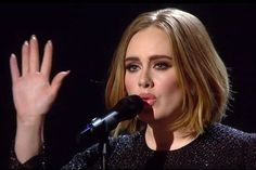"Adele claimed she wanted to ""burst out laughing"" through her performance"
