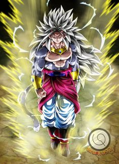 Here a work for about his OC, Jaduko, in Super Saiyan God of Peace . Dragon Ball Gt, Dragon Ball Image, Broly Ssj4, Broly God, Dbz Characters, Goku Super, Anime Art, Character Design, Cartoon