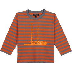 kid winter 2015-16 - t-shirt Tara enfant goéland/écarlate #agnesb #agnesbenfant #taraoceans