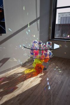 Sparkle Geometric Table (by John Foster) John Fosters Invites.