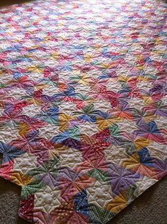 Twisted Hexagons by Buttontree Lane, via Flickr