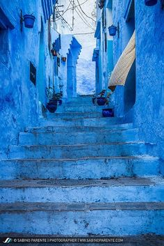 Chefchaouen, Morocco, The blue city