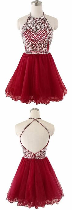 Red Homecoming Dress with Cross Back Strap,Short Prom Dress,Back To School Dresses · BBTrending · Online Store Powered by Storenvy Grade 8 Grad Dresses, Short Graduation Dresses, Cheap Short Prom Dresses, Simple Homecoming Dresses, Dress Prom, Dresses For Teens, Trendy Dresses, Fashion Dresses, Formal Dresses