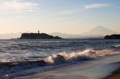 Enoshima and Mt.Fuji