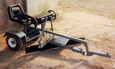 ATV Road Grader | My RZR: red 2010 standard