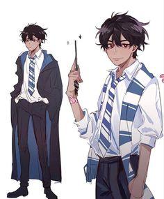 i'm going to be honest you were adopted by the wise man. i do not ow… #fiksipenggemar # Fiksi Penggemar # amreading # books # wattpad Harry Potter Wizard, Harry Potter Artwork, Harry Potter Drawings, Harry Potter Anime, Anime Outfits, Anime Oc, Anime Guys, Anime Wizard, Hogwarts