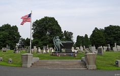 President Chester A. Arthur, the 21st President of the United States. Albany Rural Cemetery in Albany, New York