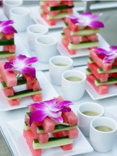 tropical food appetizer