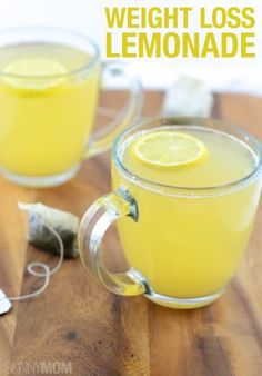 Jump start your morning with this green tea lemonade.