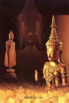 Ayutthaya Art : The Ayutthaya period began when King Ramathibodi I (King U Thong) established Ayutthaya as a capital city in the 15th century AD. The city survived until its second defeat in the 18th century AD at the hands of the Burmese.