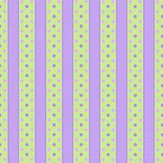 Sausalito Cottage by Holly Holderman - Celery Dotted Stripe