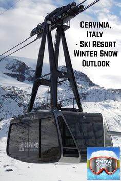 #Cervinia, #Italy - #Ski #Resort Winter #Snow #Outlook Expecting more snow storms but warmer than normal.  See Details