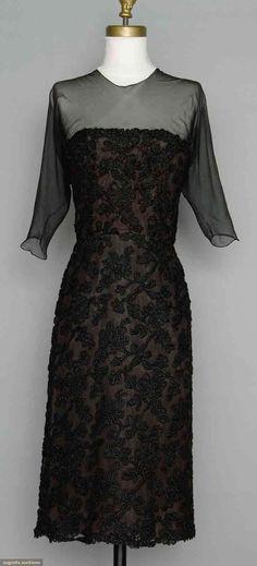 2ad28a029b Balenciaga Couture Cocktail Dress