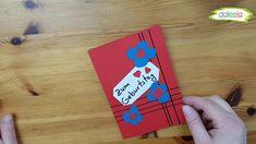 Kartenbasteln einfach mit Papier und Schere - Glückwunschkarten zum Geburtstag (Karte 1) Start der einfachen neuen Serie für Bastler mit wenig Bastelmaterial. Papier, Schere, Stift und Kleber haben die meisten zu Hause - also fang an! Bastel mit und mache anderen eine Freude. Cover, Paper, Simple, Scissors, Joy, Slipcovers