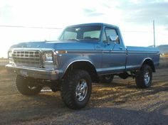 Nothing quite like a 1979 Ford truck.