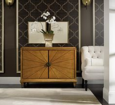 Appealing to those who embrace contemporary lines, yet revere traditional design   Hooker Furniture