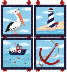 NAUTICAL ART FOR BOY'S NURSERY by Jeannie Lovell | Boothbay Register