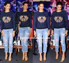 You searched for deepika padukone - Page 2 of 184 - High Heel Confidential Jeans Fashion, Girls Fashion Clothes, Girl Fashion, Fashion Outfits, Womens Fashion, Retro Outfits, Jean Outfits, Casual Outfits, Deepika Padukone Jeans