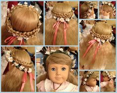Fine 1000 Images About American Girl Doll Hairstyles On Pinterest Short Hairstyles Gunalazisus
