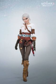 Character: Cirilla Fiona Elen Riannon (aka Ciri) / From: Andrzej Sapkowski's 'The Witcher' Short Stories and Novels & CD Projekt RED's 'The Witcher' Video Game Series / Cosplayer: Kristina Riviyskaya (aka TophWei (t_off) cosplay) / Photo: M.Chayka (2015)