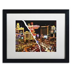 "Trademark Fine Art The Strip by Philippe Hugonnard Artwork, 16 by 20"", White Matte/Black Frame Trademark Fine Art http://www.amazon.com/dp/B0144O461G/ref=cm_sw_r_pi_dp_5uN-vb1GYC4X6"