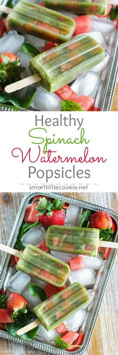 Healthy Spinach Wate