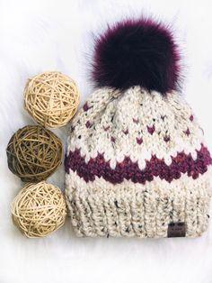 Baby Hat Knitting Patterns Free, Fair Isle Knitting Patterns, Easy Sewing Patterns, Bag Patterns To Sew, Easy Knitting, Knitting Yarn, Crochet Patterns, Hat Patterns, Yarn Projects