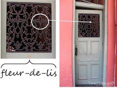 Fleur-de-lis the symbol of New Orleans was found hidden around the city...#NOLA