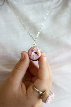 How to Make a Polymer Clay Doughnut Charm or Ring   eHow Crafts