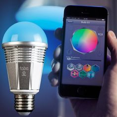 Lumen Smart Bulb - Use your iPhone to instantly control your lighting environment.