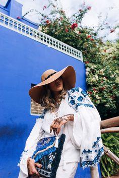 Jardin Majorelle – #marrakech – LOUISE XIN Marrakech, Gypsy Style, Daydream, Bohemian, Indian, Fashion, Moda, Boho, Fasion