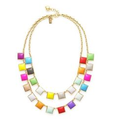 Rainbow Collar Necklace - Kate Spade