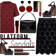 How To Wear Platform Sandals Outfit Idea 2017 - Fashion Trends Ready To Wear For Plus Size, Curvy Women Over 20, 30, 40, 50